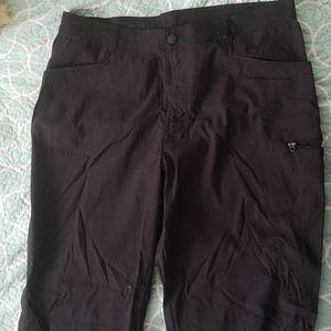 Wrangler flex black pants